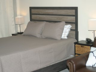 Jan 2018 - Brand new queen side bed and mattress.