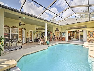 NEW! Lavish 3BR House w/Pool & Lanai Near Tampa!