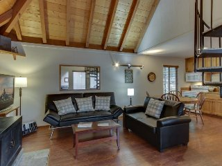 Cozy, dog-friendly home w/ private hot tub, four SHARC passes, close to Village!