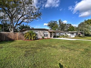 NEW! 2BR Seminole House w/ Yard - Min. to Beaches!