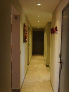 Couloir accès à la partie nuit