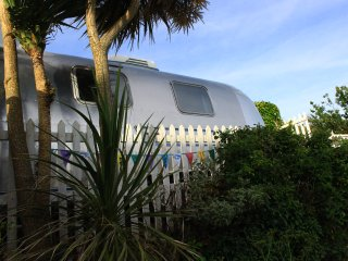 Airstream at River Cottage