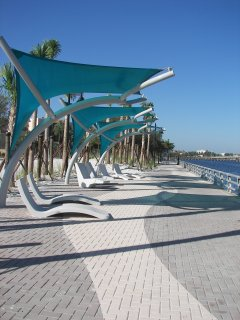 Bradenton River Walk. A great place to take enjoy time with the family.