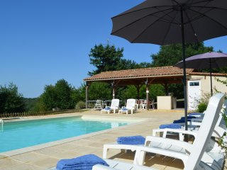 Villa with 5 bedrooms in Vergt, with private pool, furnished garden and WiFi