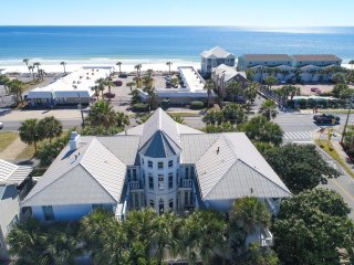 Why settle for a peek? Wraparound beach/gulf views!! Direct beach access