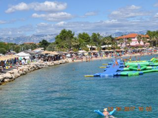 FerienhausVirCroatia/Familien Urlaub 3 Zimmer bis 6 Personen 45qm Terrasse,