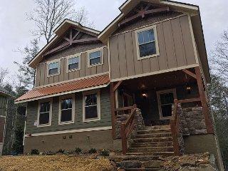 This 6 bedroom Gatlinburg pool cabin built in December 2017 will amaze you!