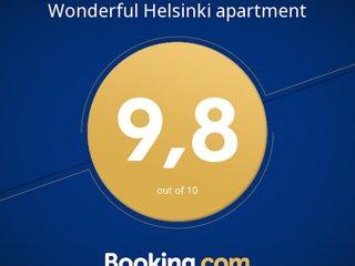 Elegant Helsinki apartment, 3 rooms, 66 m2