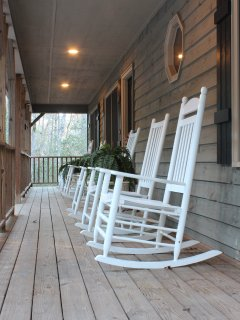 Rocking chair front porch