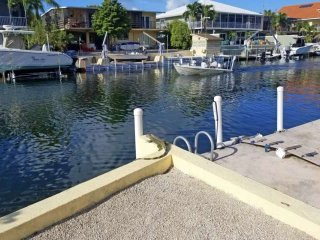 Experience the Keys like a local at this home with dock space for 2 boats & near