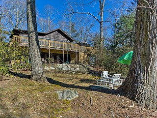 NEW! 2BR Hendersonville Cabin near Asheville!