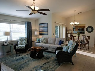 Pet friendly BEACH town cottage has it all..... GATED, Golf community!!