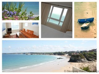 Chy Lowen - Chy Lowen Cliff top 3 storey beach house
