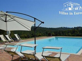 6 bedroom Villa in Chiusdino, Tuscany, Italy : ref 5484118