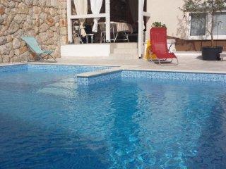 Novi Vinodolski Apartment Sleeps 3 with Pool and WiFi - 5460659
