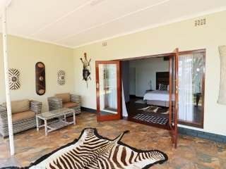 Msitu Kwetu lodge & safaris . Our lodge is right in town 150 meters from town.