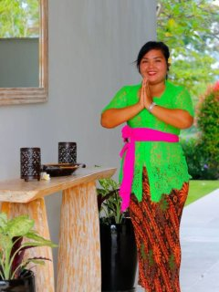 meet Ayu, our lovely maid