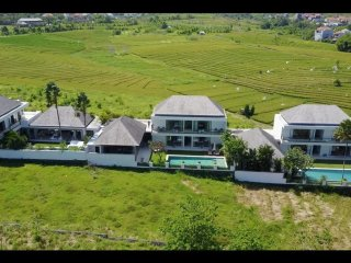 Luxurious 7 BR Rice with Fields View Villa in Canggu close to the beach #FL
