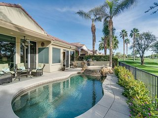 Desert Oasis 3BR w/ Casita, Saltwater Pool & Spa - Golf Course & Mtn Views