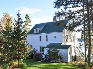 5BR Waterfront Boothbay Home w/ Private Barn, Boathouse, Pier & Dock