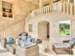 Beachfront Stone-Arched Villa with Rustic Expressions in Puntacana Resort & Club