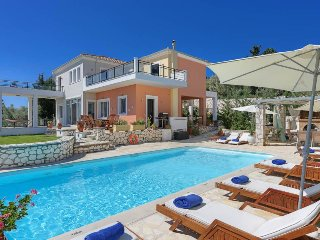 4 bedroom Villa in Lygia, Ionian Islands, Greece : ref 5334415