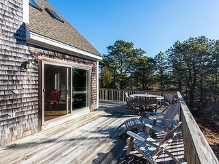 WIDRP - Long Point Beach House, Private Location, Large Wrap Around Deck with Te