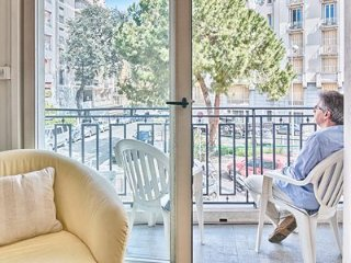 LE TRESOR DE CAFFARELLI-NICE: Central location, AC, WiFi, 2 double bedrooms
