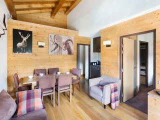 Grand Suite for 6 at Les Loges Blanches, Megeve, Savoie