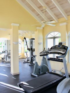 Fitness facility located adjacent at our other property.  Available to our guests
