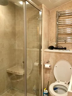 Walk-in shower ground floor annex