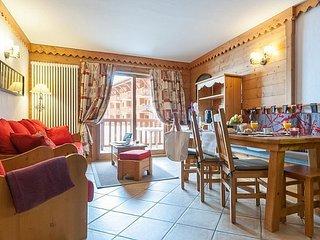 Standard 3 BR Apartment for 8 at Les Alpages de Chantel, Arc 1800