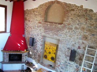 'CasaJona Holiday' Country House between Siena and Firenze, near San Gimignano.