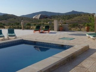 CaveHouse with pool & private tennis court