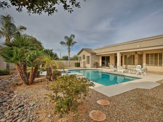 NEW! 4BR Chandler Home - Pool & Golf Course Views!