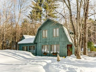 Sweet Post and Beam Close to Skiing & Shopping! Pets Welcome-Fenced Yard!