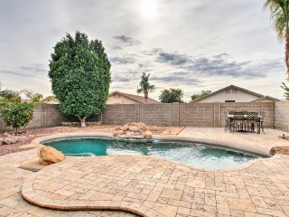 Stunning Peoria Home w/ Luxury Pool, Patio, & BBQ!