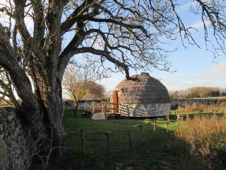 L'igloo à la ferme, une cabane insolite d'exception