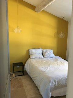 Chambre du Gîte avec lit double