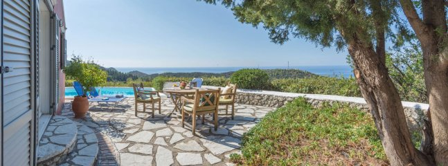 Terrace with panoramic sea view