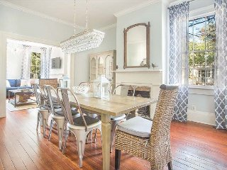 Stay Local in Savannah: Chic Town Home for the Entire Family Near River St