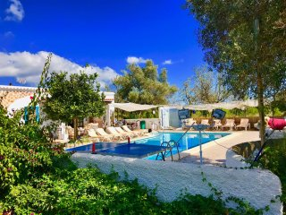 House Villa / 5 DOUBLE bedrooms 3 wc  big pool WIFI & SEA