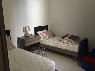 2 bedroom apartment with lounge room in village of Mgarr