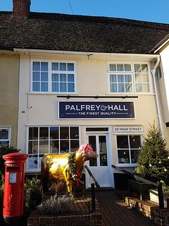 Palfrey & Hall independent local butcher and deli in High street