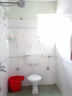 your private Bathroom with warm water shower