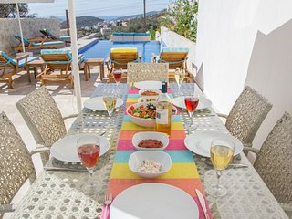 Superb Duplex with Own private pool and uninterrupted views of Kalkan bay