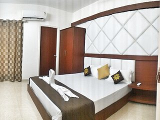 Valuable Stays Premium 2 BHK Suite near Baga and Club Cubana!