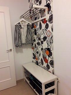 habitación doble 2 camas planta primera vestidor