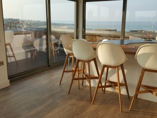 The Loft Margate - a luxury penthouse apartment with stunning sea views