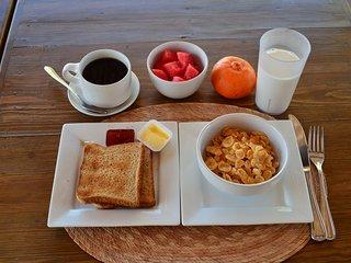 El desayuno diario.